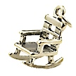 rocking chair wedding cake charms