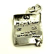 marriage license wedding cake charms