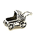 baby carriage wedding cake charms