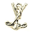 golf clubs wedding cake charms