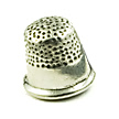 thimble wedding cake charms