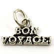 bon voyage wedding cake charms