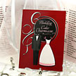 wedding cake charms meaning cards
